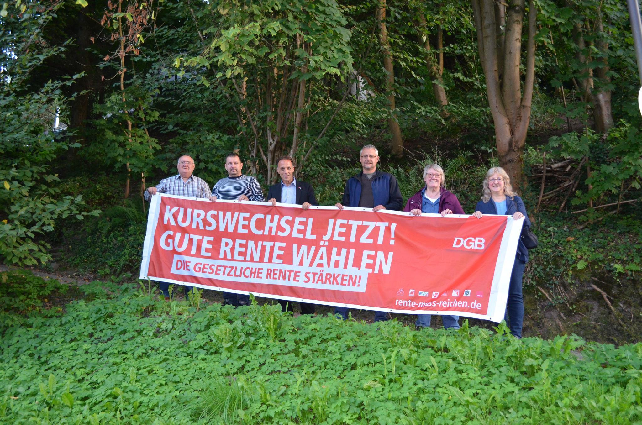 Rentenaktion Kulmbach