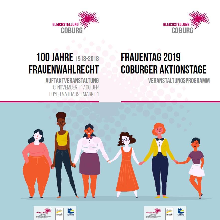 Coburg 100 Jahre Frauenwahlrecht