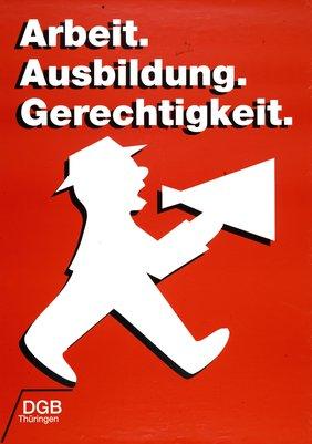 DGB-Plakat LV Thüringen Ausbildung
