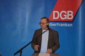 Toni Hirtreiter Neujahrsempfang DGB Forchheim 2019