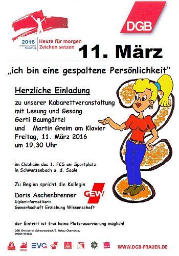 Frauentag Schwarzenbach