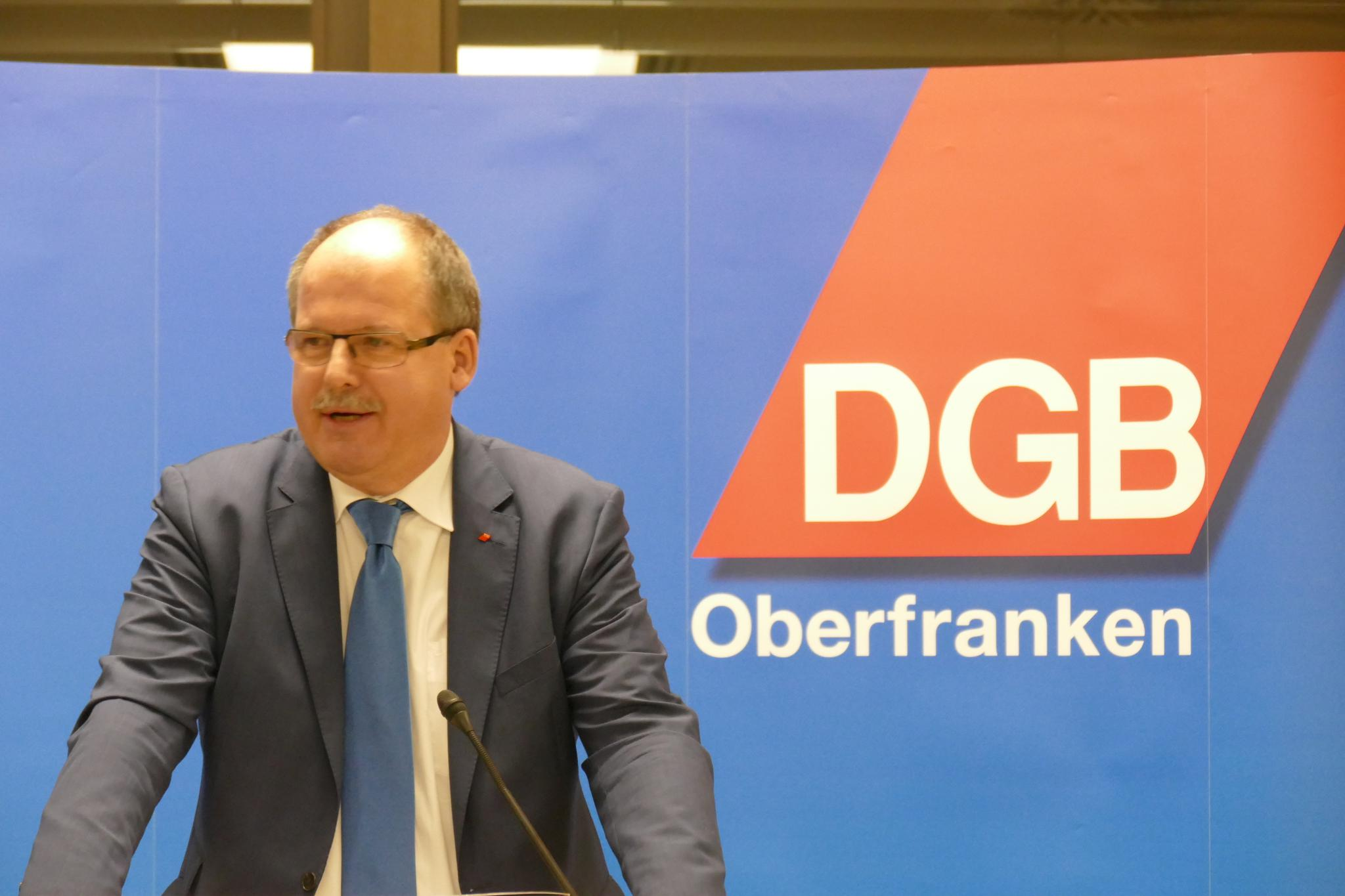 Stefan Körzell Neujahrsempfang DGB Oberfranken 2019