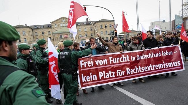 DGB und seine Mitgliedsgewerkschaften riefen ebenfalls zum Aktionstag auf