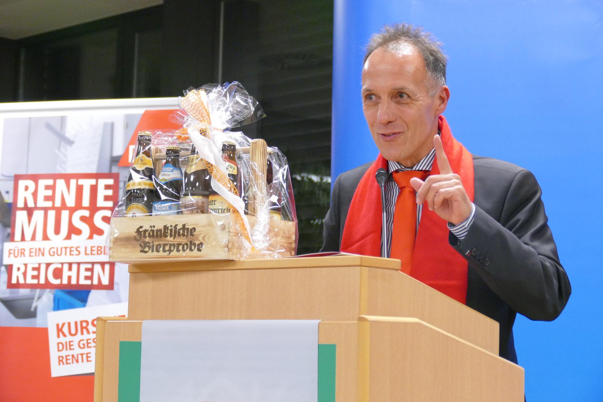 Mathias Eckardt Neujahrsempfang DGB Oberfranken 2019