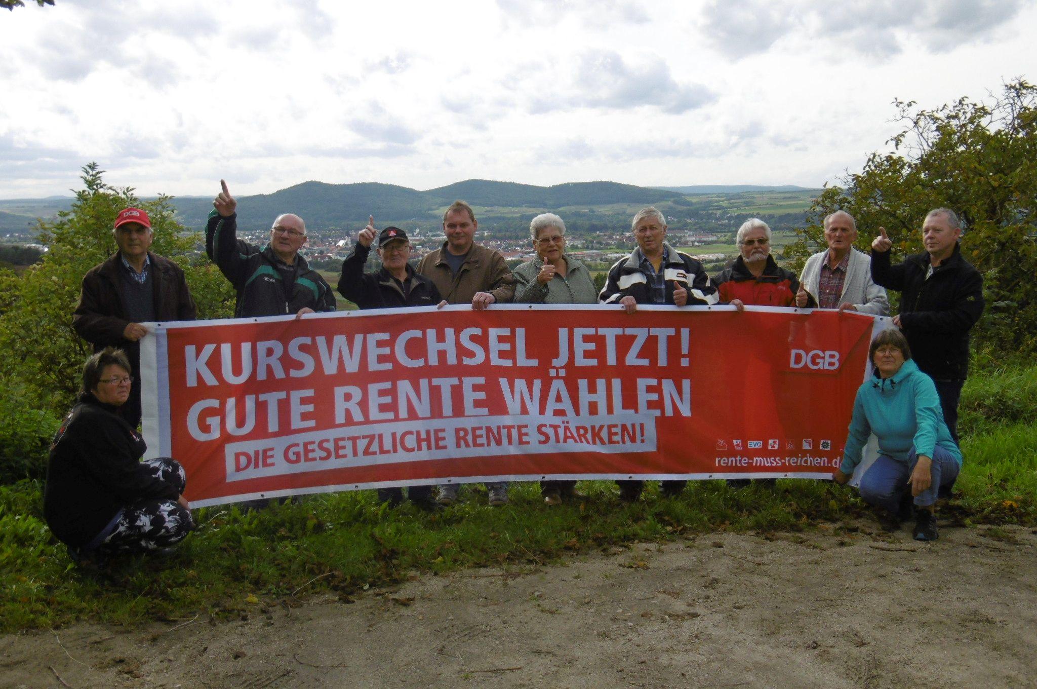 Kreisverband auf dem Staffelberg